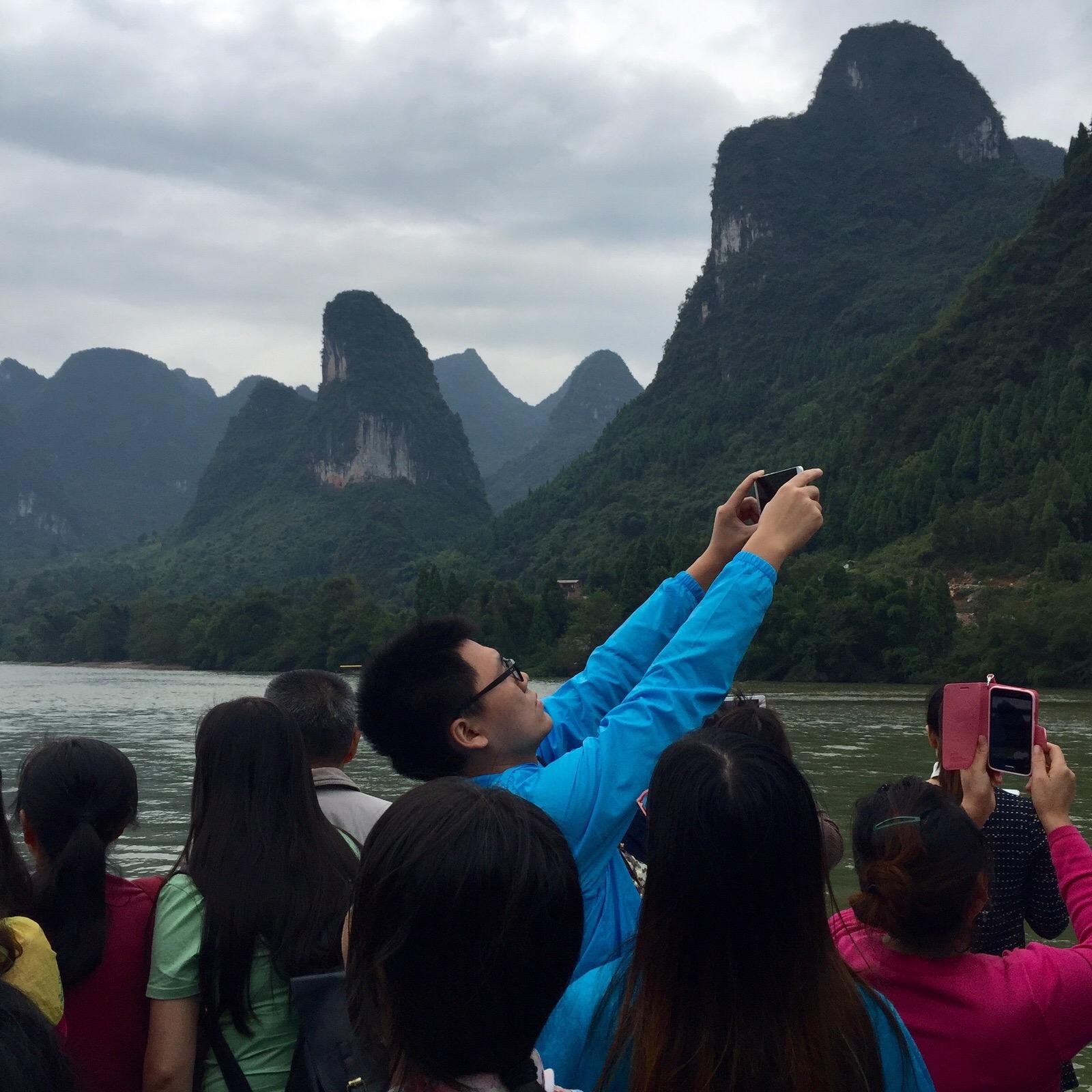 Kiinassa joella 2015