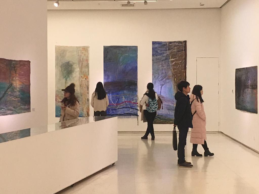 Näyttely, Xian, Kiina