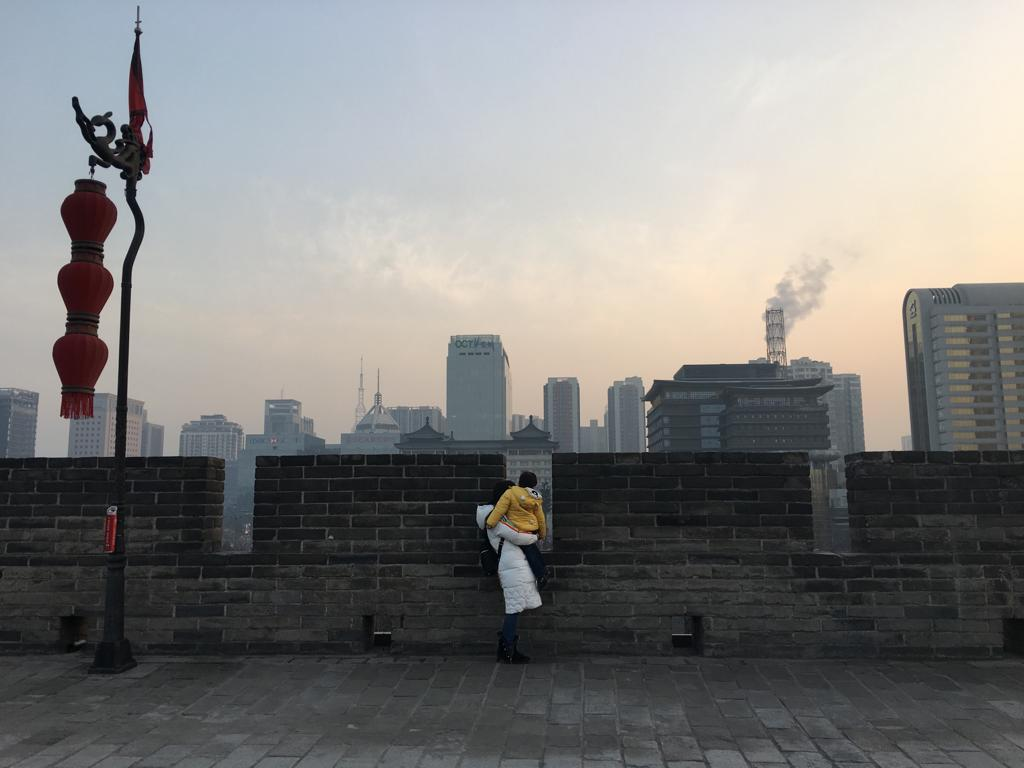 Xianin muureilla