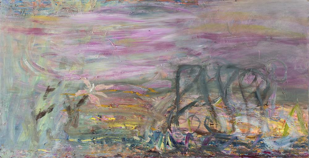 Pehmeät yöt, 120 x 235 cm, 2020