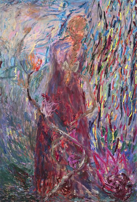 Sielu sielusta, 190 x 130 cm, 2021